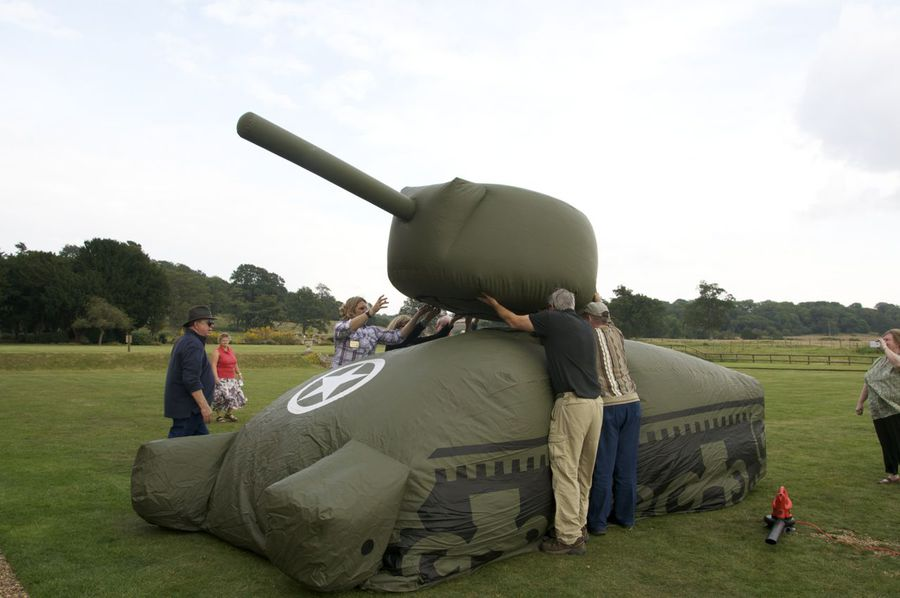 Tank Inflation
