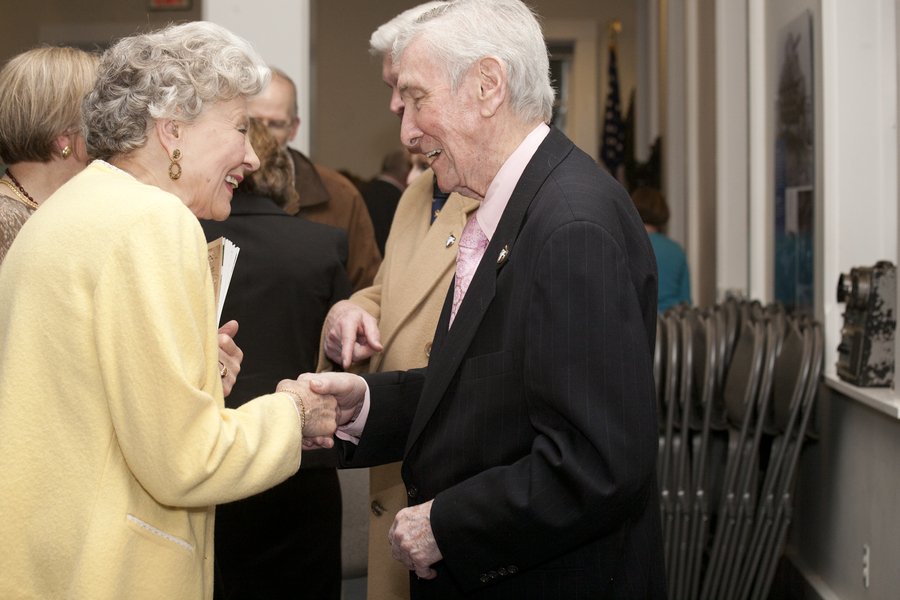 Jack McGlynn and Joanne Patton