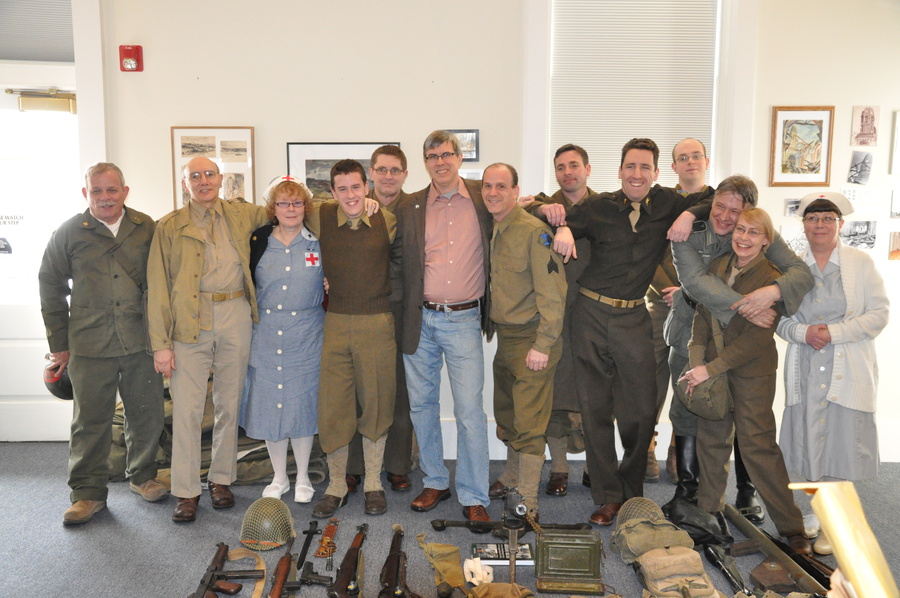 26th Infantry Division Reenactors
