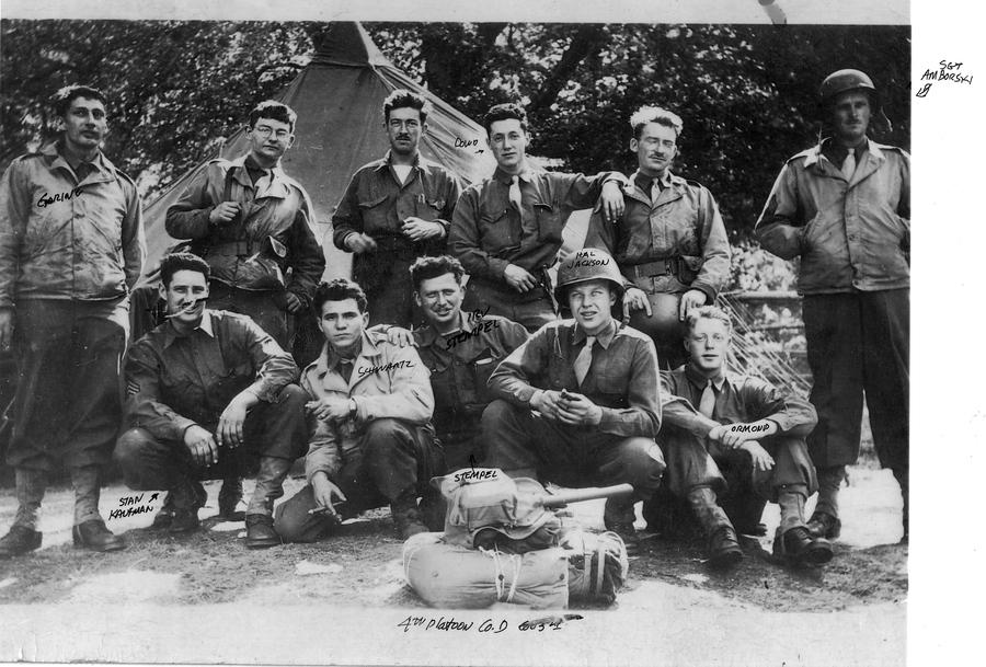 4th Platoon, Company D