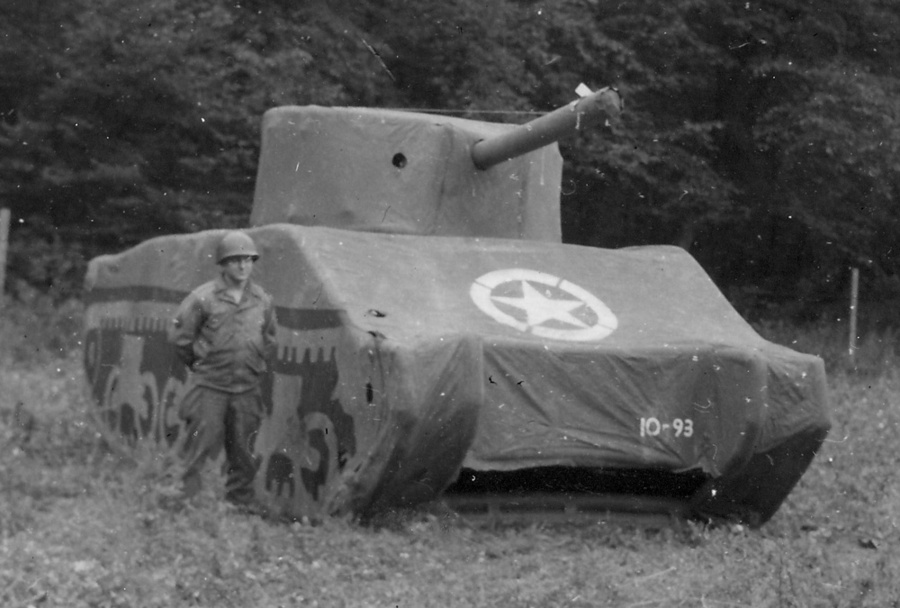 Dummy M4 Inflatable Tank