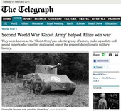 Second World War 'Ghost Army' helped Allies win war