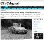 Second World War 'Ghost Army' helped Allies win war